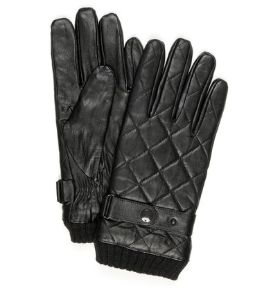 Profuomo Leren Handschoen Nappa Zwart