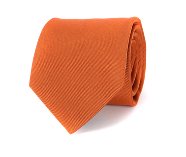 Profuomo Stropdas Oranje 16Q