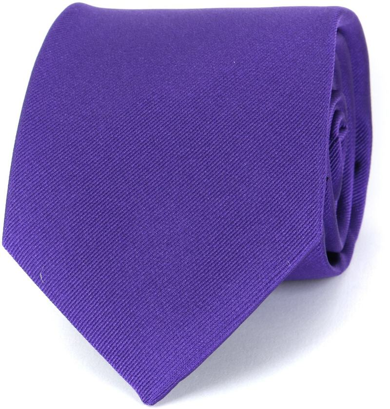Profuomo Tie Purple 16M photo 0