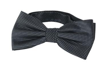 Bow Tie Silk Dark Grey photo 0