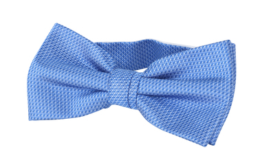 Bow Tie Silk Blue photo 0