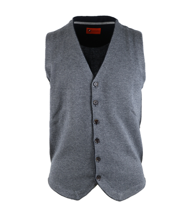 Suitable Gilet Antraciet