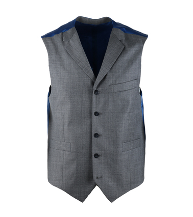 Suitable Gilet Evans Grijs