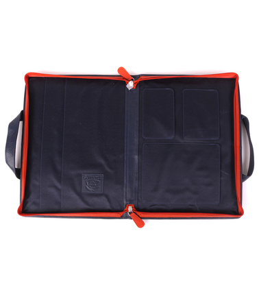 Suitable Leather Laptop Bag 13 Inch Dark Blue photo 2