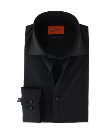 Suitable Overhemd Zwart 62-08
