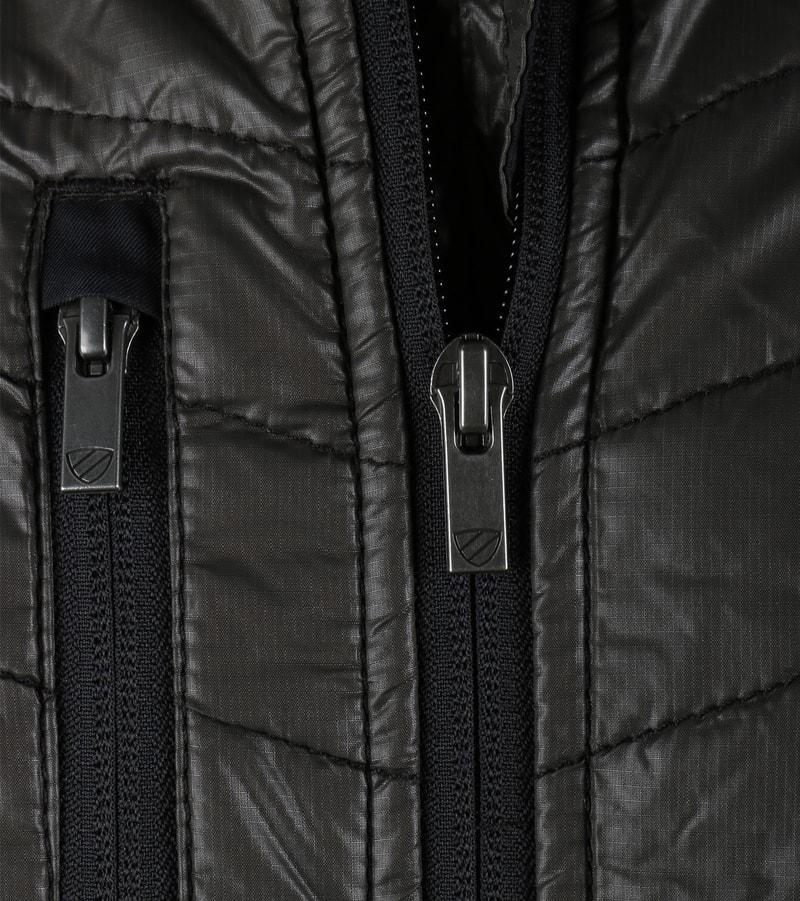 Detail Suitable Softshell Spur Jacket Zwart