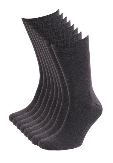 Detail Suitable Sokken Grijs 8-Pack