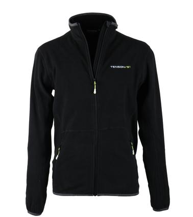Tenson Fleece Vest Miller Zwart