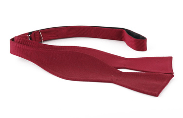 Self Tie Bow Tie Bordeaux F31