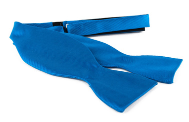 Self Tie Bow Tie Ocean Blue F32
