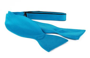 Self Tie Bow Tie Turquoise F24