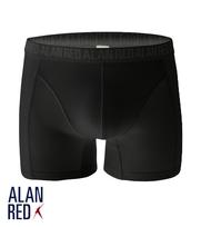 Alan Red Boxer Aangesloten Zwart