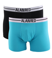 Alan Red Boxershort Aqua 2Pack