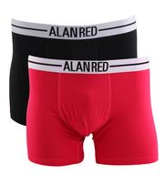 Alan Red Boxershort Raspberry 2Pack