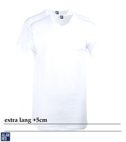 Alan Red Vermont Extra Lange T-Shirts Wit (2Pack)