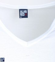 Detail Alan Red Extra Lange T-Shirts Vermont (2pack)