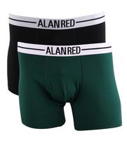 Alan Red Ondergoed Groen 2pack
