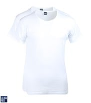 Alan Red T-Shirt Extra Brede O-Hals Stretch
