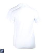 Detail Alan Red T-Shirt Extra Diepe V-Hals Stretch