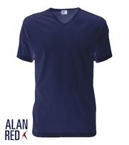 Alan Red T-Shirt V-Hals Vermont Ultramarine (1pack)