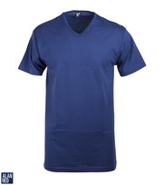Detail Alan Red T-Shirt V-Hals Vermont Ultramarine (1pack)