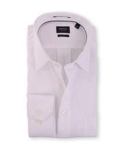 Arrow Overhemd Regular Fit Wit Vissengraat