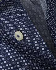 Detail Arrow Shirt Blake Kent Navy