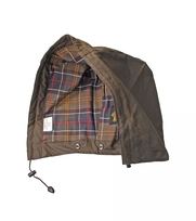 Barbour Kapuze Beaufort Olivgrün