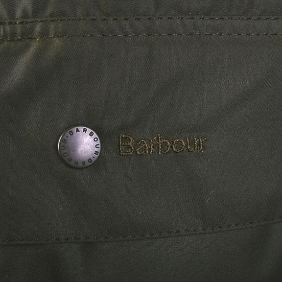 Detail Waxcoat Barbour Beaufort Classic