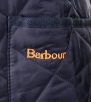 Detail Barbour Heritage Liddesdale Navy