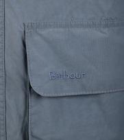 Detail Barbour Port Zomerjas Blauw