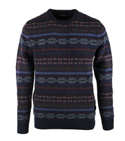 Barbour Pull Fairisle O-Nek