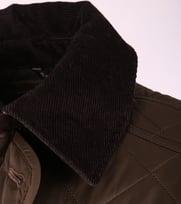 Detail Barbour Quilted Jas Fortnum