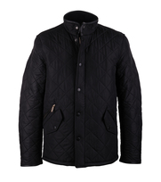 Barbour Quilted Jas Powell Zwart