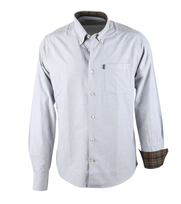 Barbour Shirt Oxford Grijs