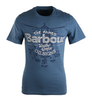 Barbour Vessel T-shirt Chambray