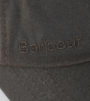 Detail Barbour Wax Pet Olijfgroen