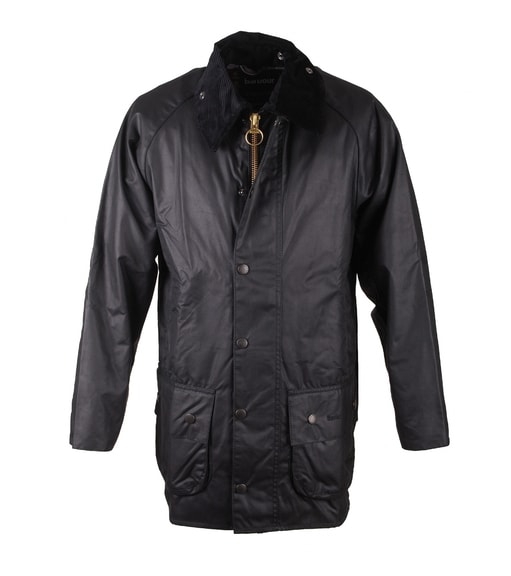 Detail Barbour Waxjas Beaufort Black
