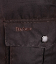 Detail Barbour Waxjas  Corbridge
