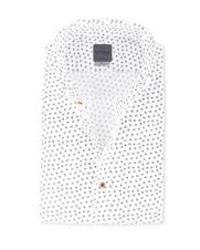 Detail Bertoni Overhemd Malte Wit