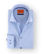 Blauw Geruit Overhemd 51-09
