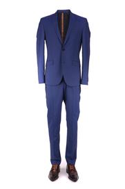 Blauw Gestreept Kostuum Hines