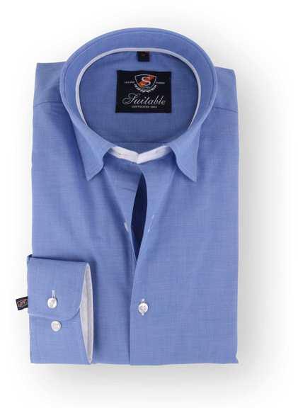 Blau Hemd 108-2