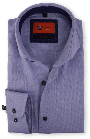 Blau Hemd Circle Cutaway 118-5