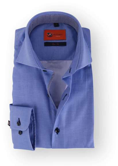 Blue Shirt Slim Fit 113-03