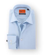 Blauw Ruitjes Overhemd 51-04