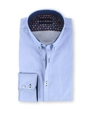 Blue Industry Shirt Button Down Lichtblauwe Ruit