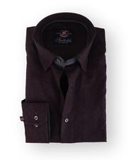 Bordeaux Paisley Overhemd Slim Fit 111-06