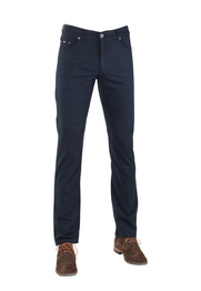 Brax Cooper Fancy Broek Wol Look Navy