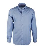 Casual Overhemd Blue Bubble Suitable